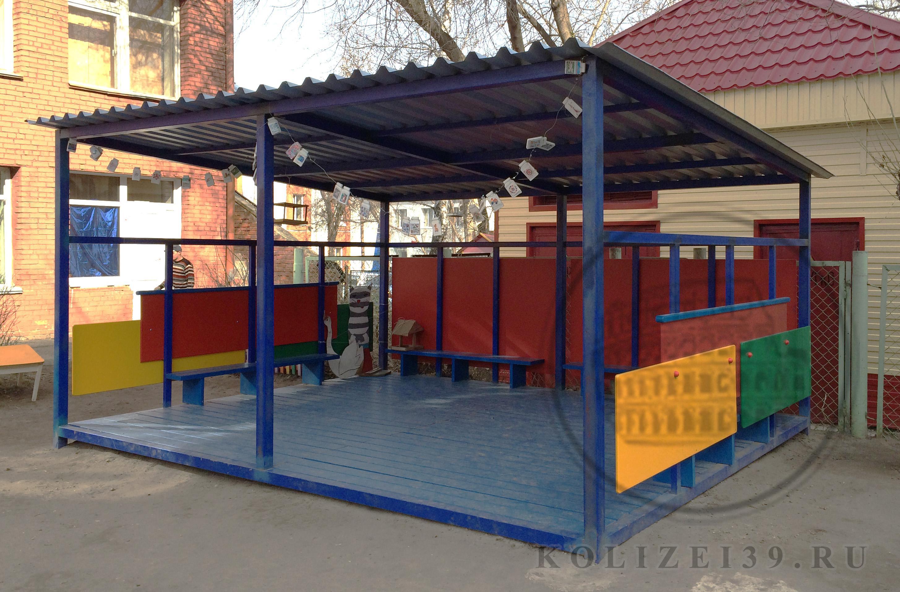 Веранда для детского сада фото